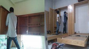 Sửa tủ bếp tại nhà Hà Nội