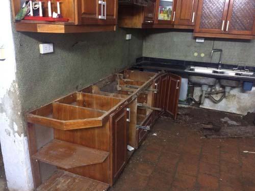 sửa chữa tủ bếp tại Hà Đông