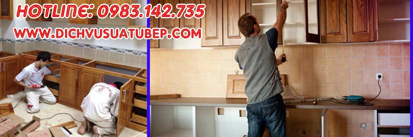 Dịch vụ sửa tủ bếp