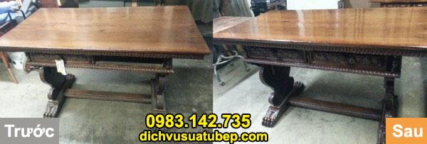 Thợ sửa chữa bàn ghế cũ