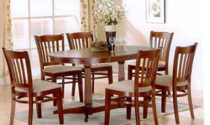 kích thước bàn ăn 6 người