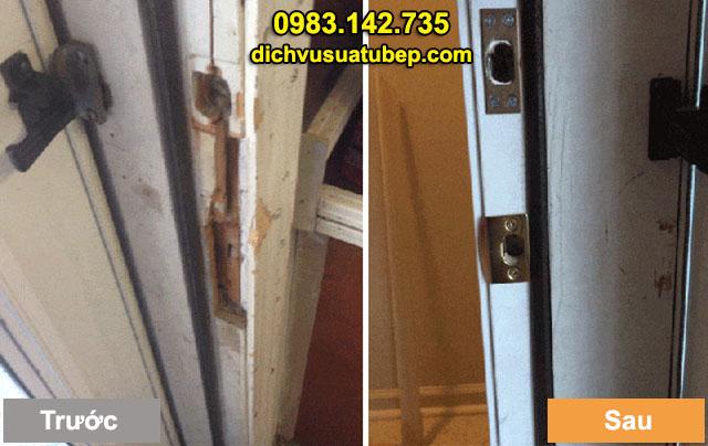 Sửa chữa cửa gỗ