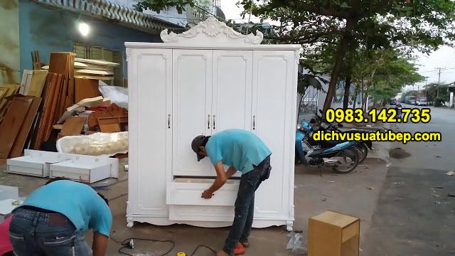 tháo lắp vận chuyển đồ gỗ