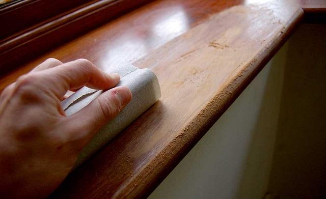 sơn đồ gỗ màu trắng