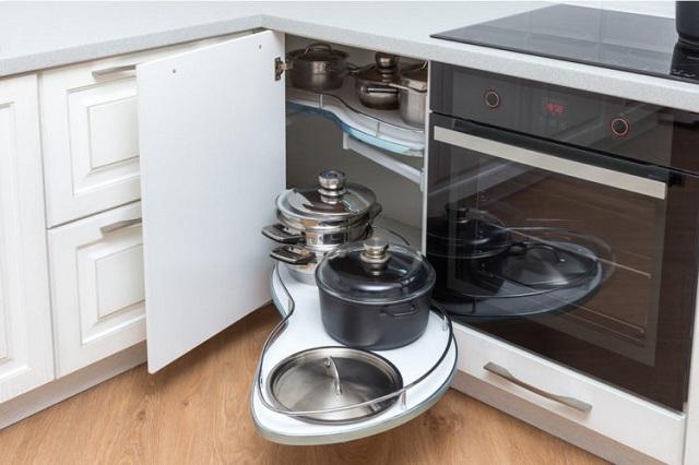 bố trí ngăn tủ bếp