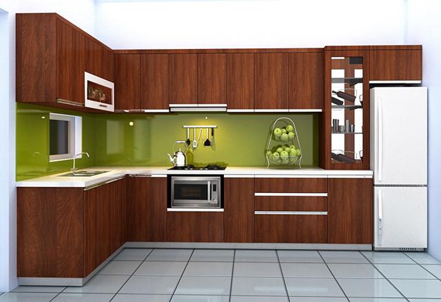 vật liệu làm tủ bếp