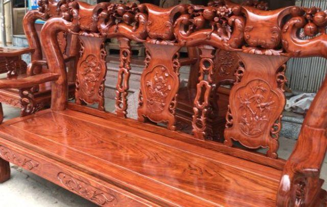 Ghế lười làm từ gỗ cẩm lai