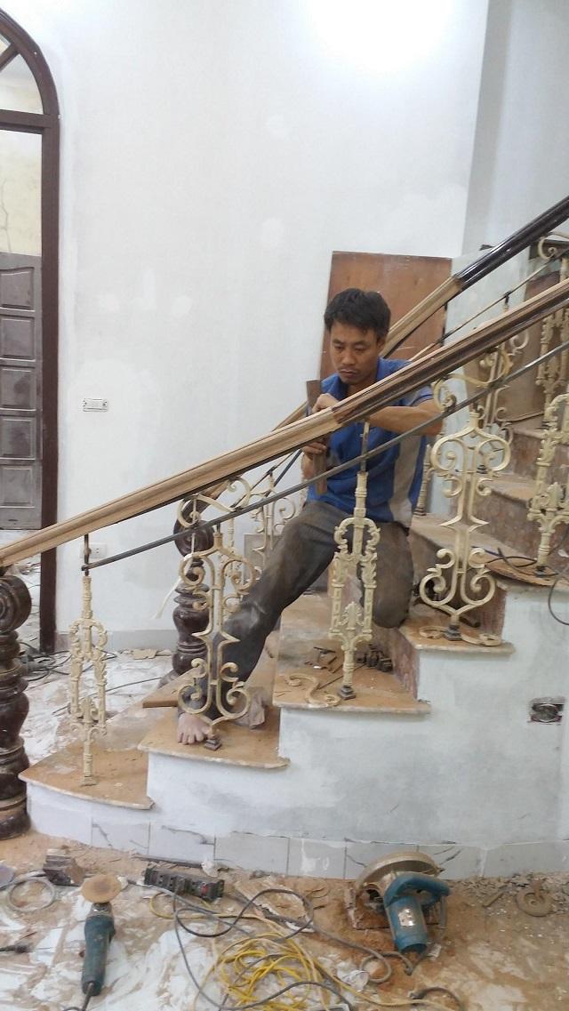 Hình ảnh sửa chữa cầu thang tại nhà củaSửa Chữa Đồ Gỗ Tuấn Đạt