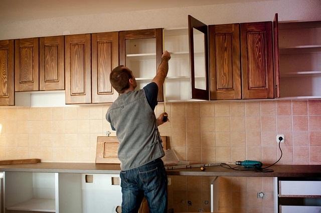 Sửa chữa tủ bếp tại Quận Hoàn Kiếm - Dịch vụ uy tín