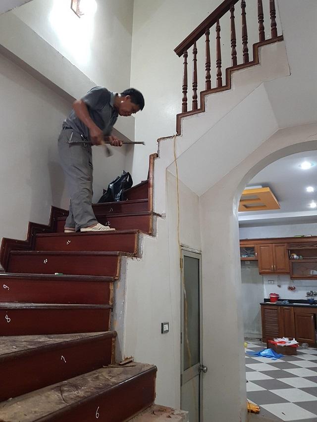Dịch vụ sửa chữa cầu thang