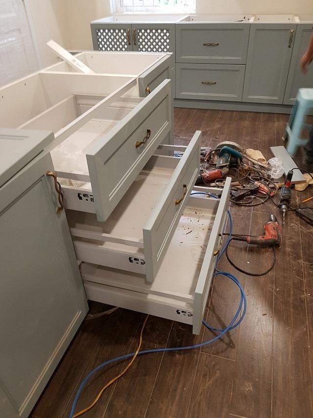Ray trượt tủ bếp