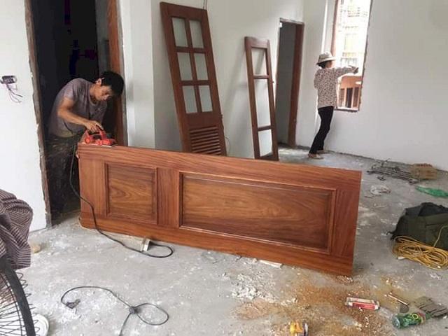 Hình ảnh sửa đồ gỗ tại Đống Đa