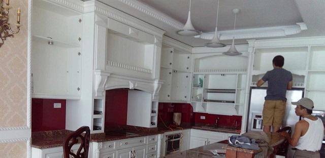 Khi nào cần tới dịch vụ sửa tủ bếp?