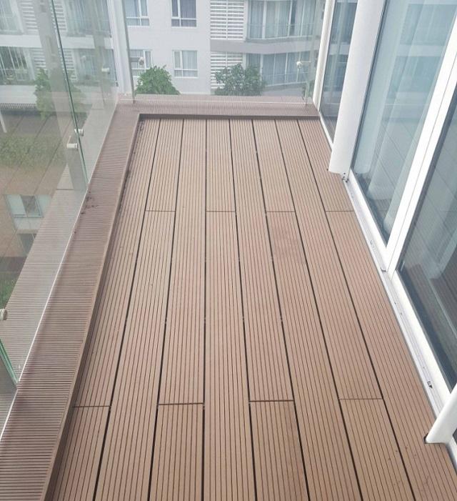 Gỗ nhựa có thể ứng dụng làm sàn gỗ trong nhà