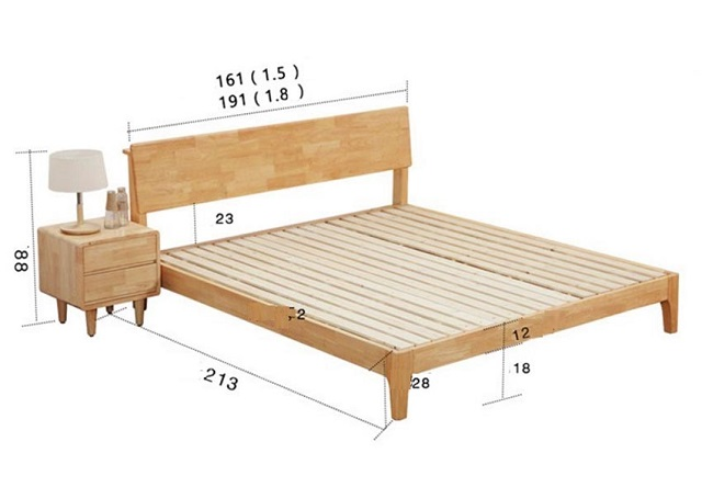 Kích thước giường ngủ dành cho gia đình như thế nào?