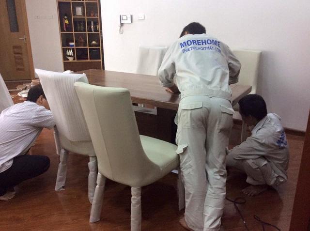 Quy trình thi công, lắp đặt đồ gỗ tại Tuấn Đạt cực chuẩn, chuyên nghiệp