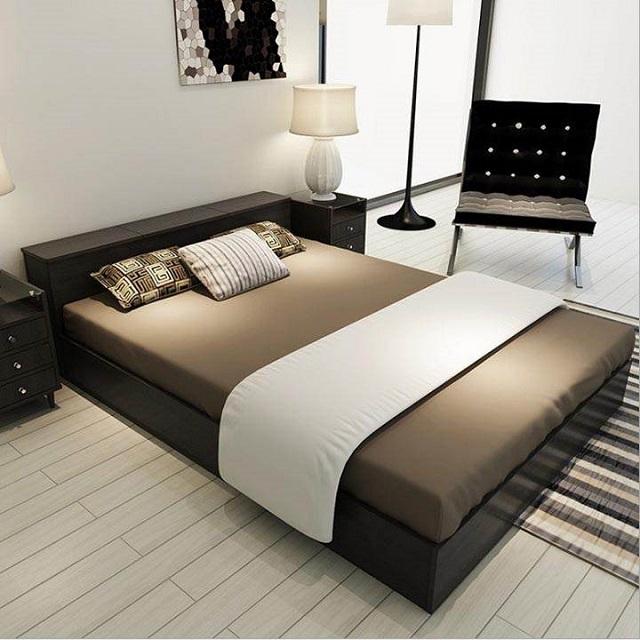 Giường gỗ công nghiệp có nhiều ưu điểm nổi trội